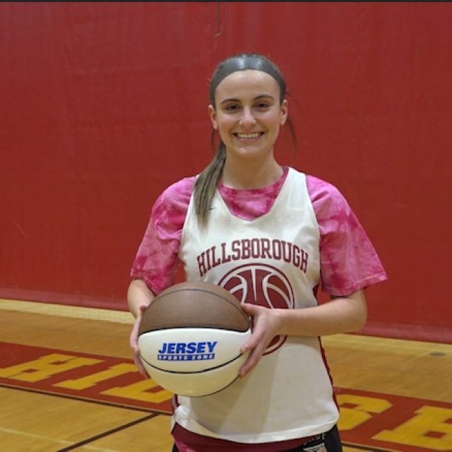 Dani Pescatore of Hillsborough wins North Jersey Game Ball