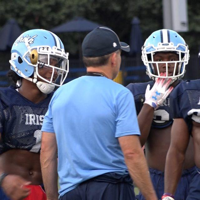Williams twins prepare for senior season at Notre Dame