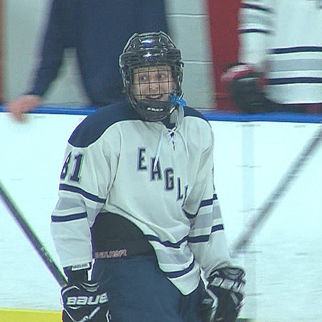 A Block Party on a School Night?  Nate Block's Hat Trick Gives Midd. South Big Win
