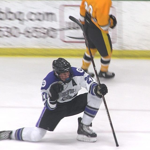 RFH hockey reaches 7-1-1 after upset of #11 Saint John Vianney