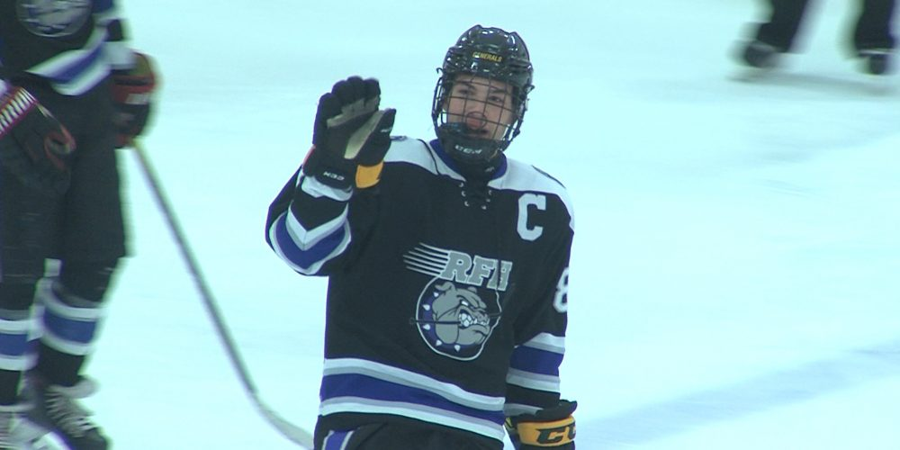 Catalano's Hat Trick Gives RFH Big Shore Conference Road Win