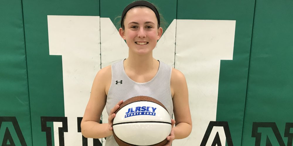 Mainland's Cadence Fitzgerald Wins NJM Insurance South Jersey Game Ball