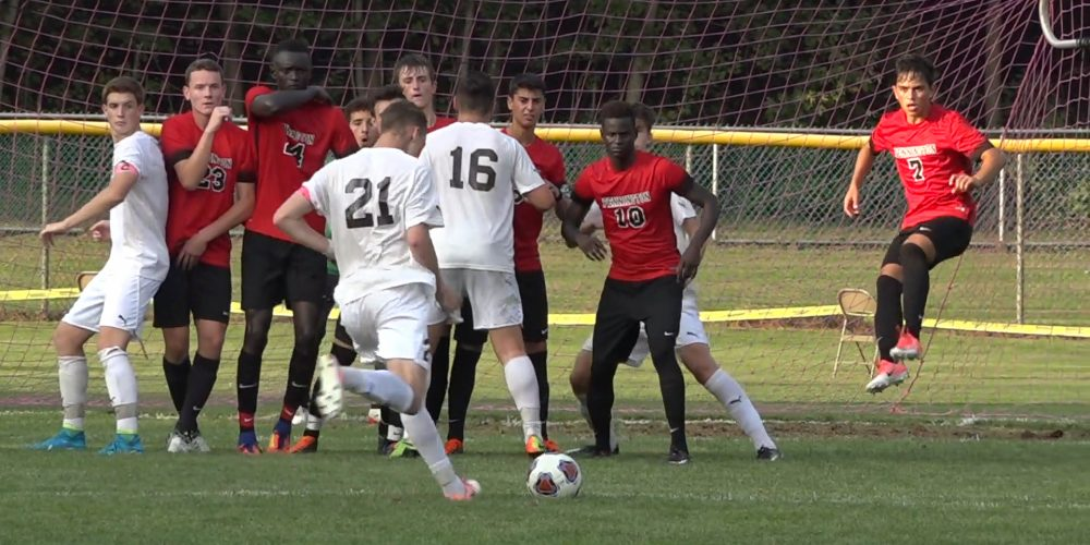 Delran stuns nation's top ranked team in 2-1 thriller