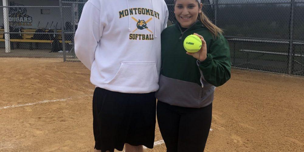 Montgomery's Tori Ferraiolo Wins North Jersey Game Ball!