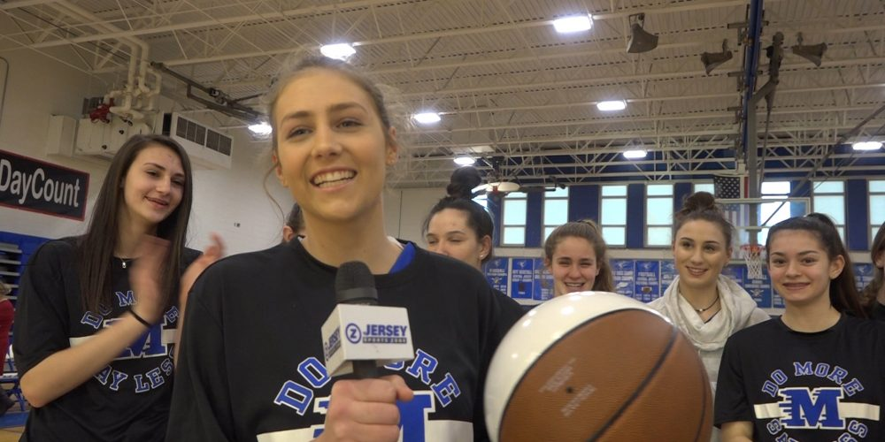 Olivia Robel Wins Girls Central Jersey Game Ball For Middlesex!