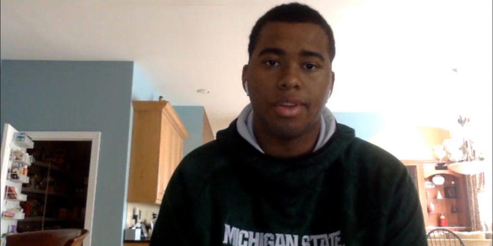 Hun's Kevin Wigenton II talks committing to Michigan State football during quarantine