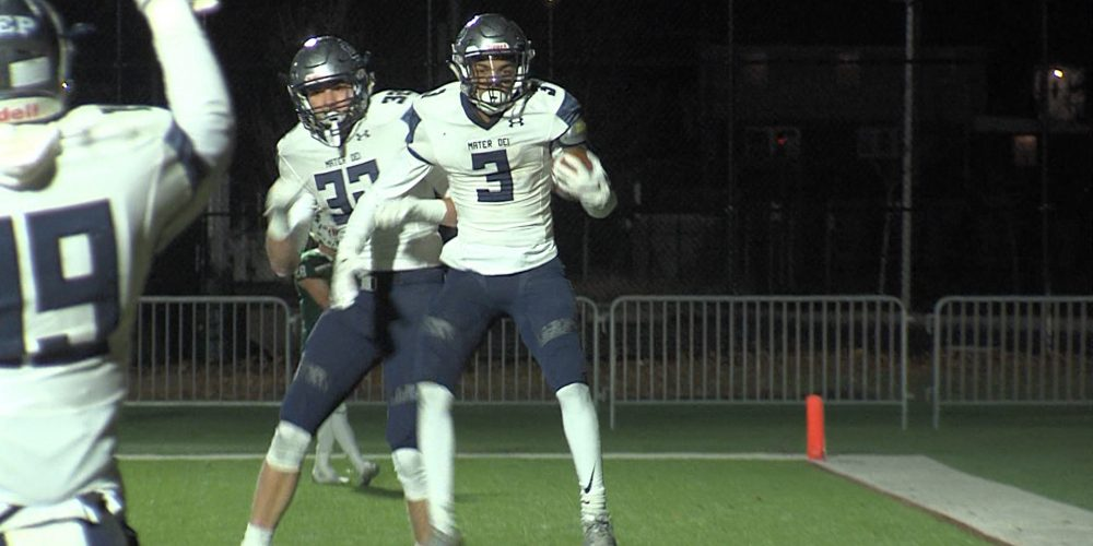 Mater Dei Prep's Clarence Lewis Commits to Notre Dame