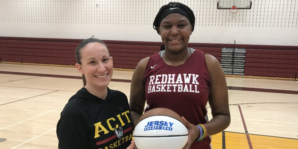 Cea'anai Jackson of ACIT Wins South Jersey Game Ball