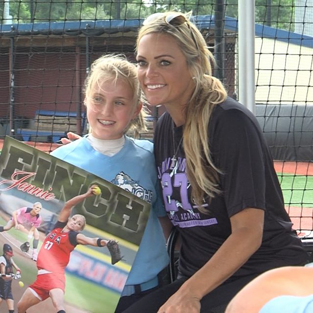 USA Softball Legend Jennie Finch and Her Platform to Empower Young Women