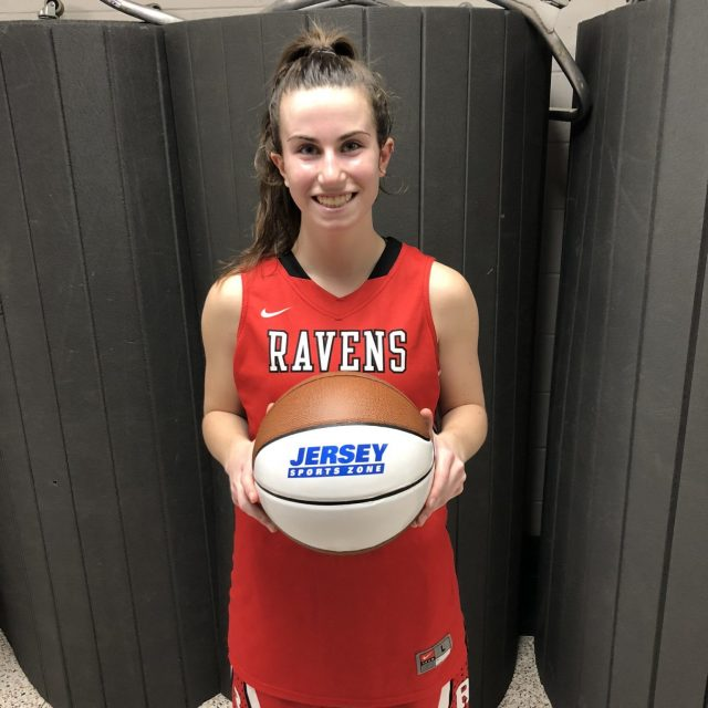 Robbinsville's Fiona Aromando takes home first South Jersey game ball