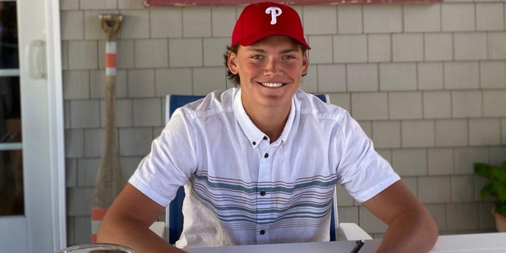 Ocean City's Jake McKenna Signs with Phillies