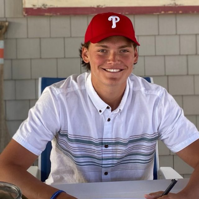 Ocean City's Jake McKenna Signs with Phillies