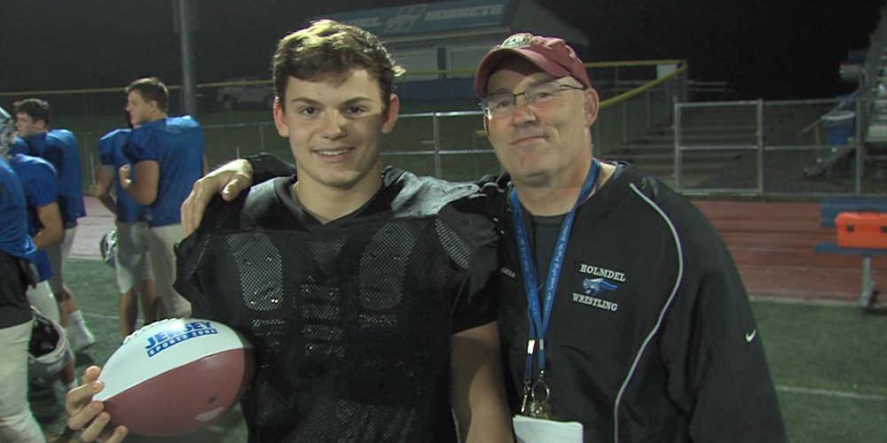 Holmdel's Evan Jennings wins JSZ Week 7 Central Jersey Game Ball