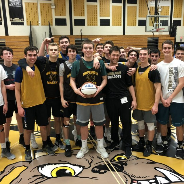 Robby Wiley of Hopewell Valley wins Nery's South Jersey Game Ball