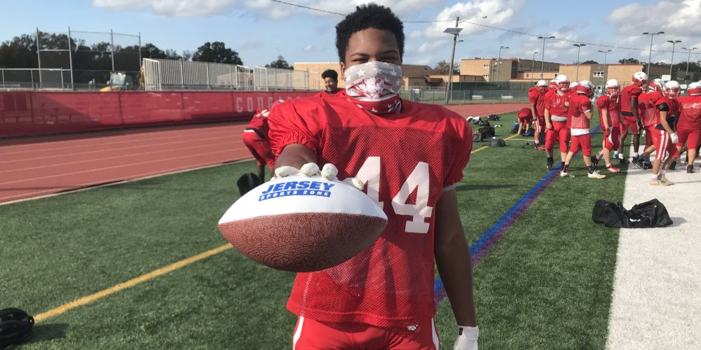 Cherry Hill East's Nick Brown Wins South Jersey Week 3 Game Ball