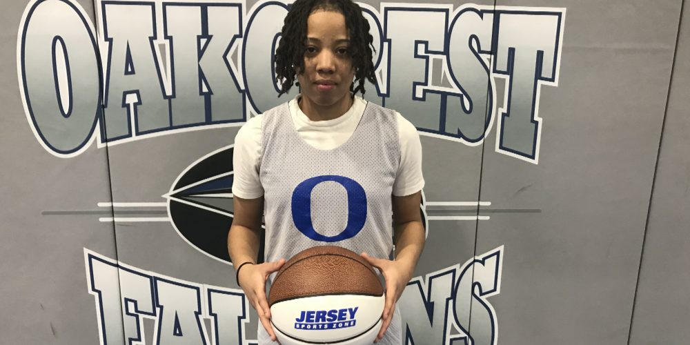 Oakcrest's Nay Nay Clark Wins NJM Insurance South Jersey Game Ball
