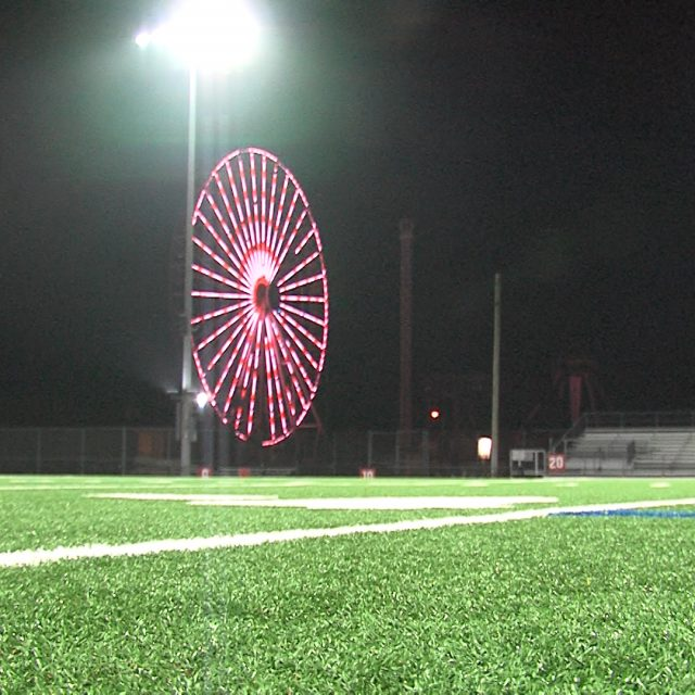 A Night and a Season Cut Short; Williamstown vs. Ocean City Game Stopped at Halftime