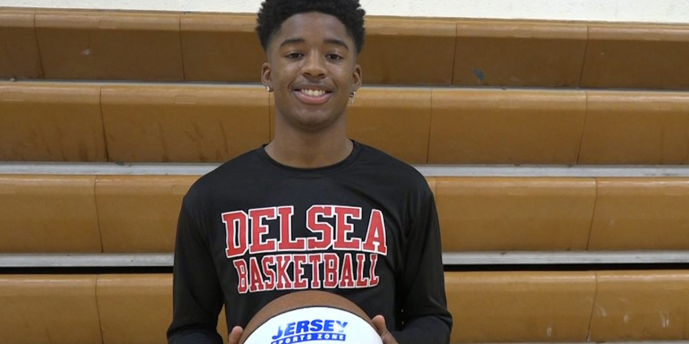 Delsea's Jerry Surrency III Wins JSZ South Jersey Game Ball!