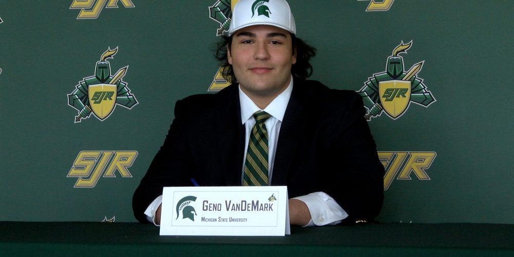 Geno VanDeMark Signs NLI with Michigan State