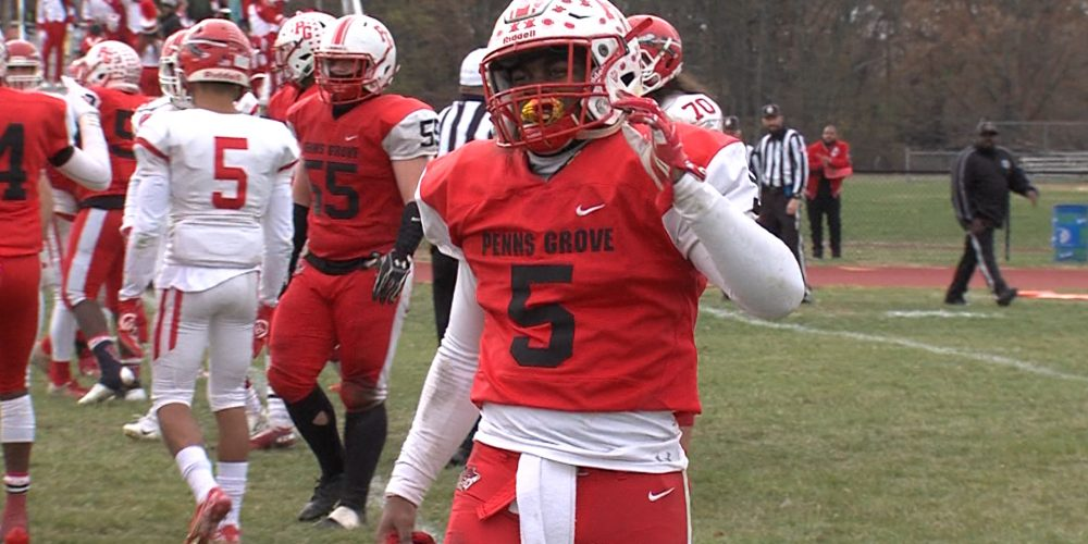 Penns Grove's Nasir Robinson Commits to Navy