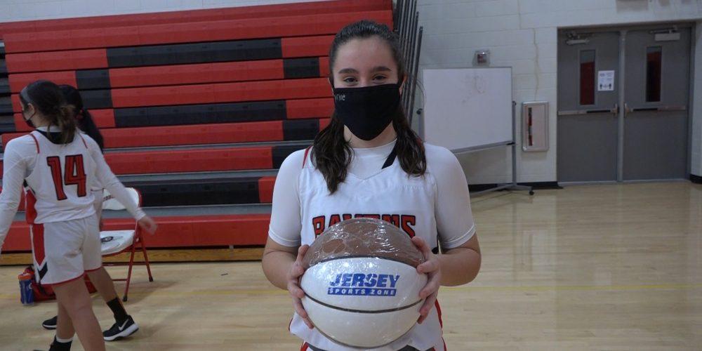 Allie Neumann Wins Central Jersey Game Ball