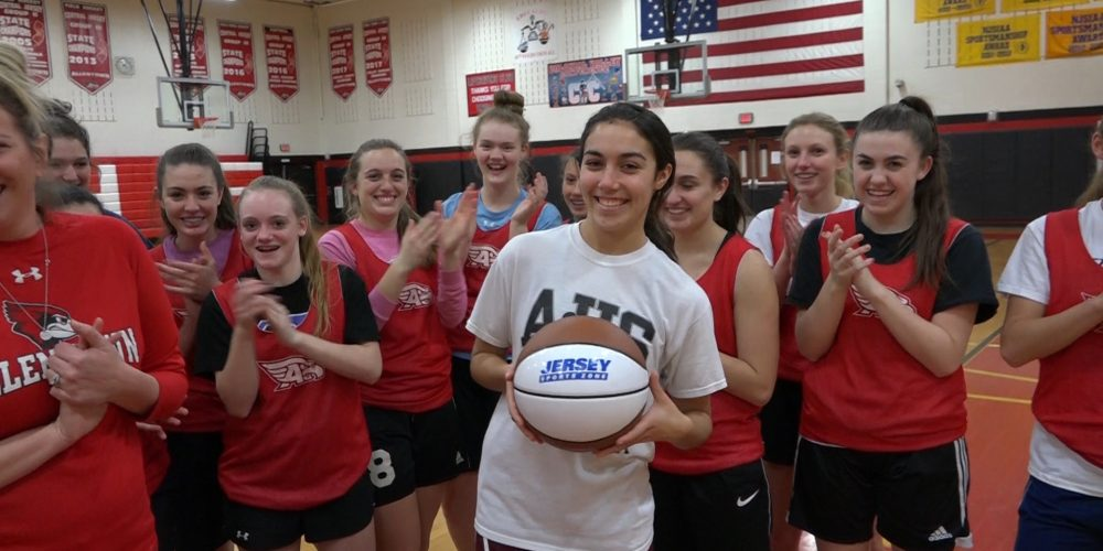 Ryan Weise wins Nery's South Jersey Game Ball