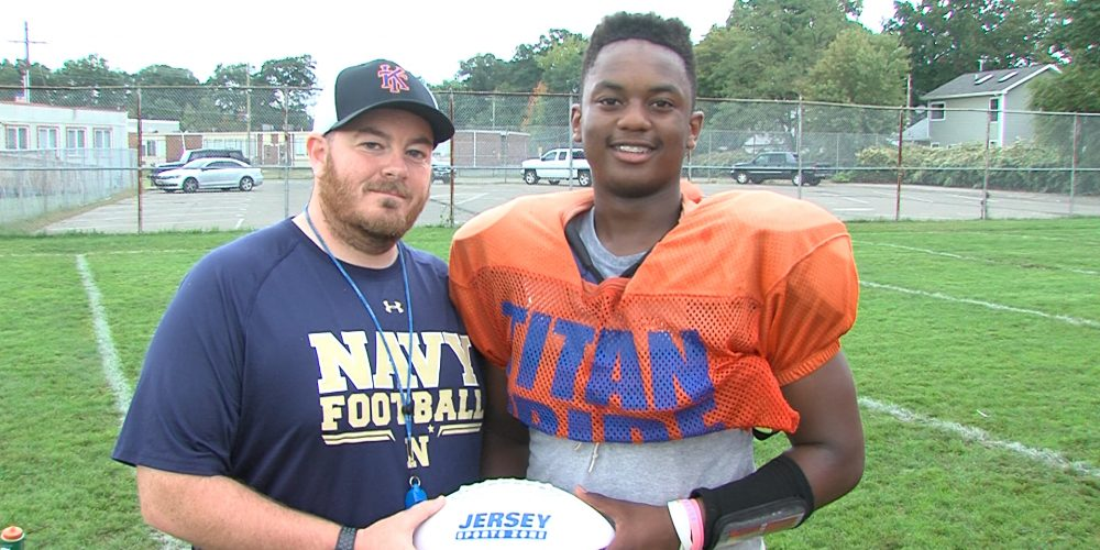 Danny Vital's record setting day earns JSZ Game Ball