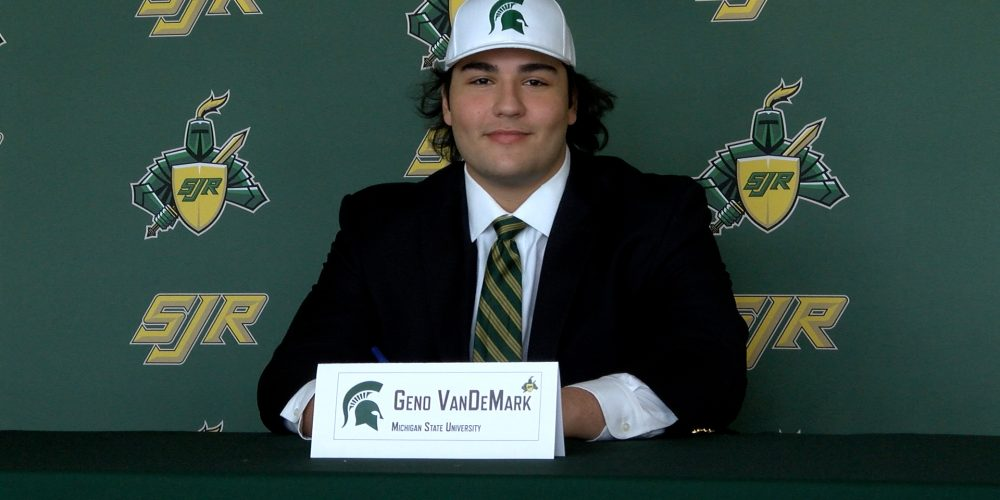 Geno VanDeMark Signs NLI with Michigan State
