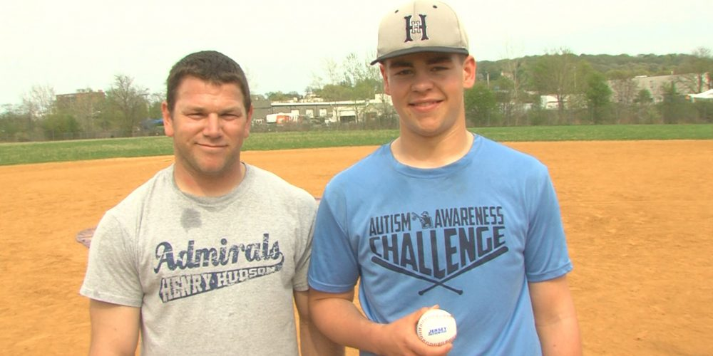 JSZ Game Ball Tour stops in Atlantic Highlands