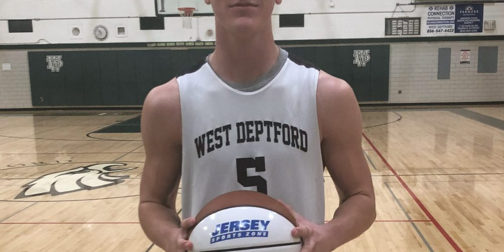 Tommy Sampson of West Deptford wins Nery's South Jersey Game Ball