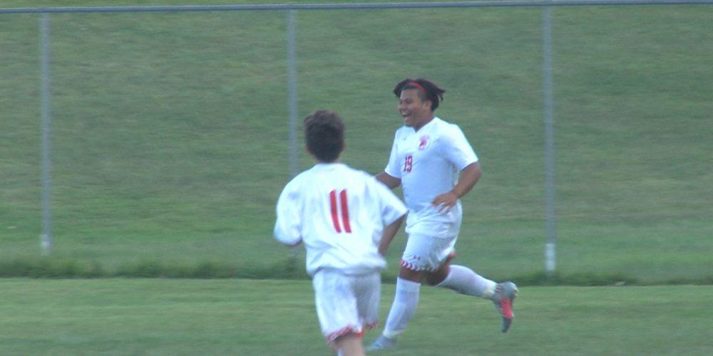 Watch South River 1 Bishop Ahr 4 boys soccer highlights