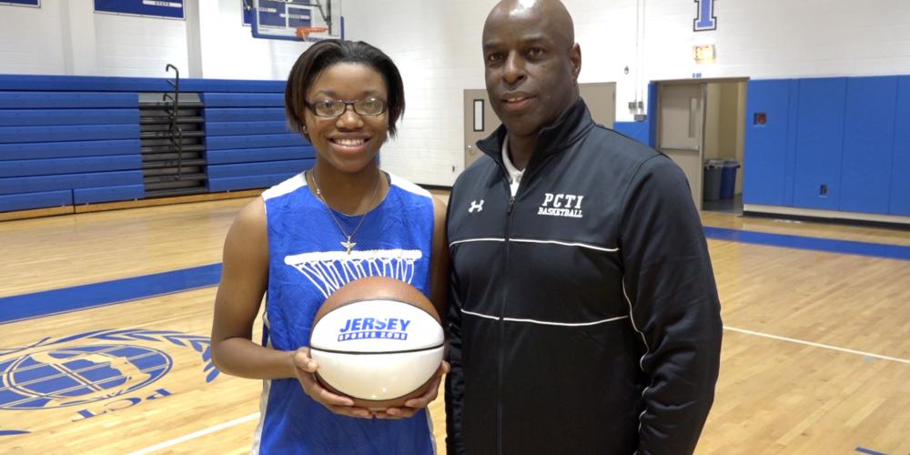 Passaic Tech's Da'Shanique Ruffin Wins Alex's North Jersey Game Ball! Watch Presentation