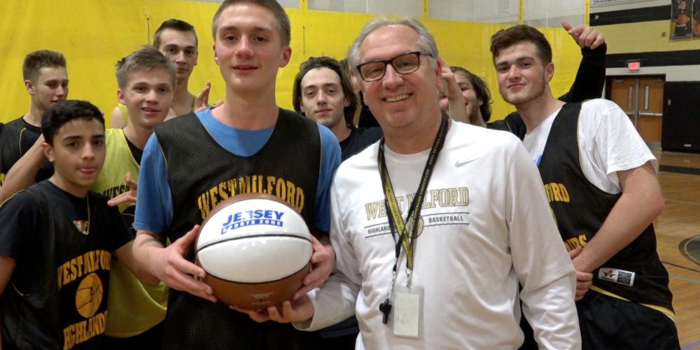 West Milford's Josiah Basket Wins Alex's North Jersey Game Ball! Watch Presentation