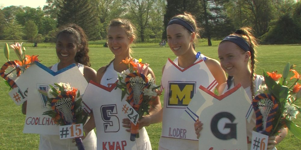 Cummings Scores Four to Give Purple Roses Road Lax Win
