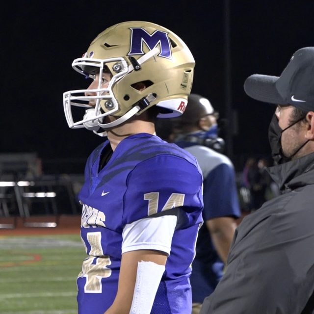 Monroe football streaks to third straight win