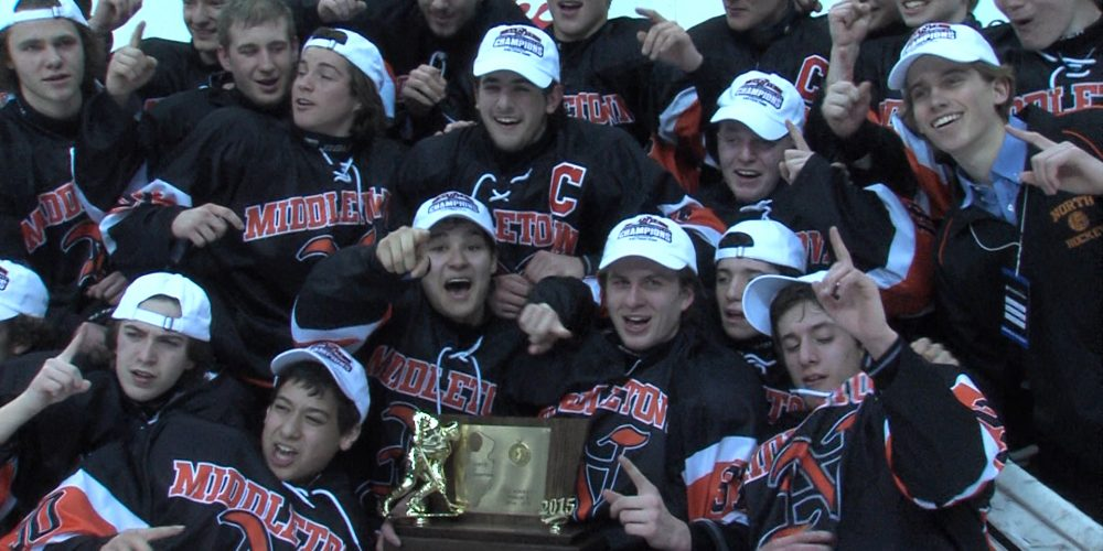 The Lions reign in Newark as state champs!