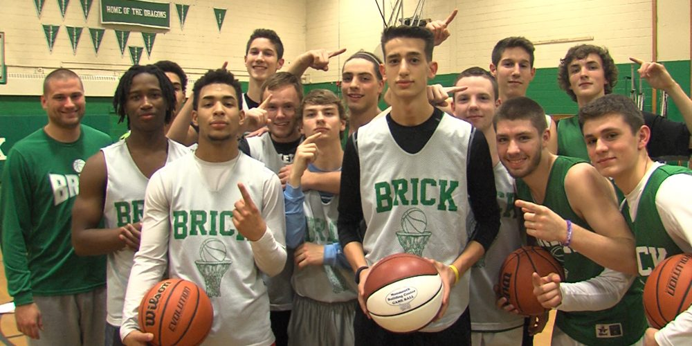 Brick's Buono earns first hoops Game Ball