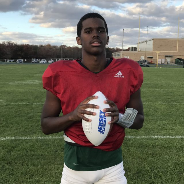 Winslow's Duren Wins Final South Jersey Game Ball