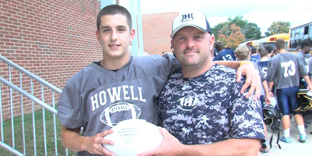 Howell's Devine gets a pick six and an SSZ Game Ball