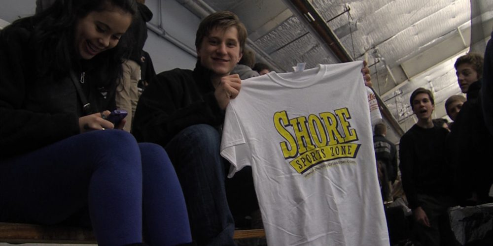 T-Shirts at Tournament Time on the ice