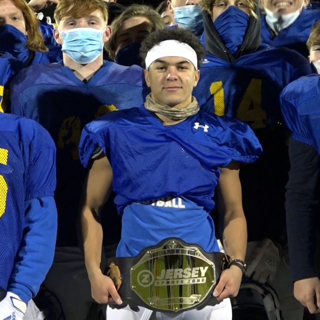 Marcus Johnson of Cranford Wins Week 7 Top Play Belt