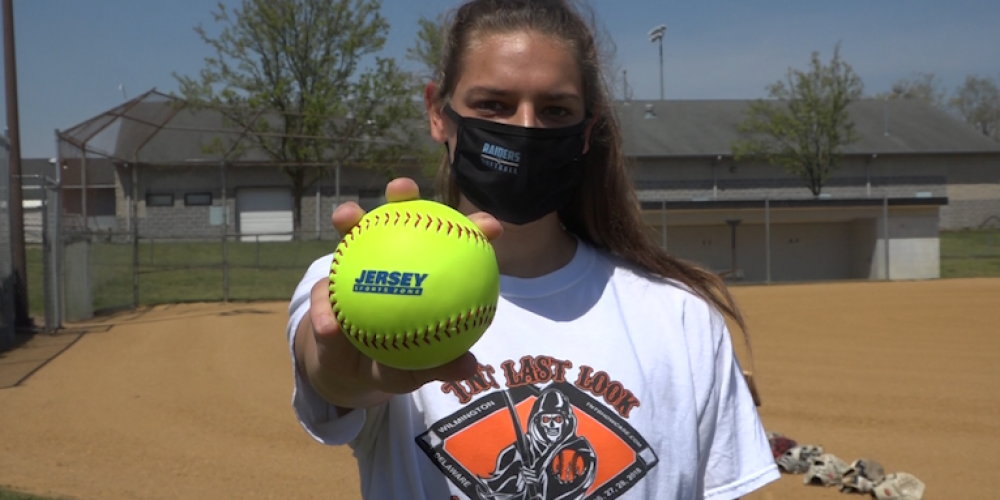 Brooke Knight of Toms River East brings home Week 1 Game Ball