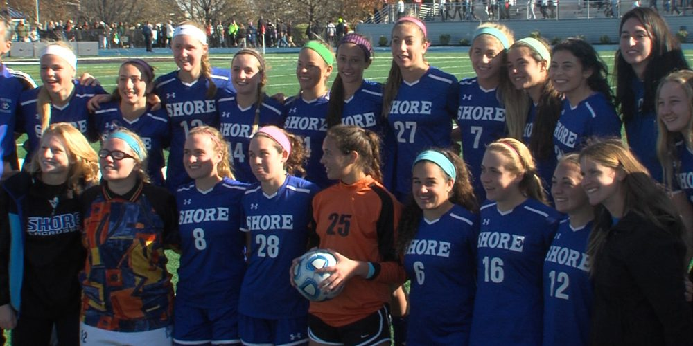 Three Shore teams claim state girls soccer titles