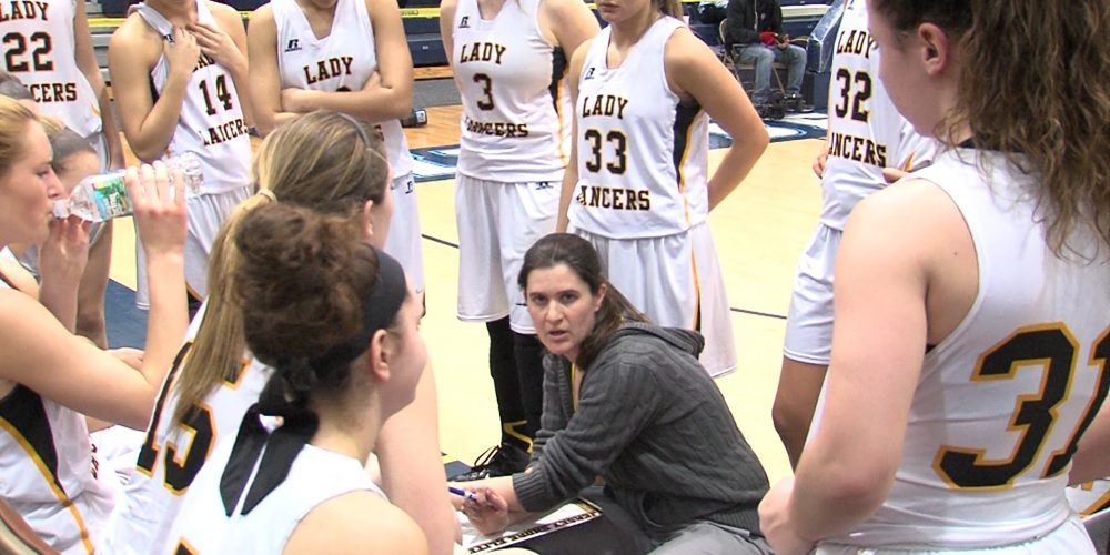 Lady Lancers cruise to T of C semis