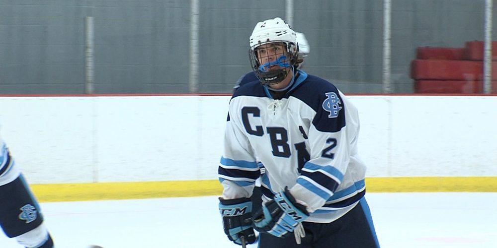CBA opens state hockey tourney in impressive fashion