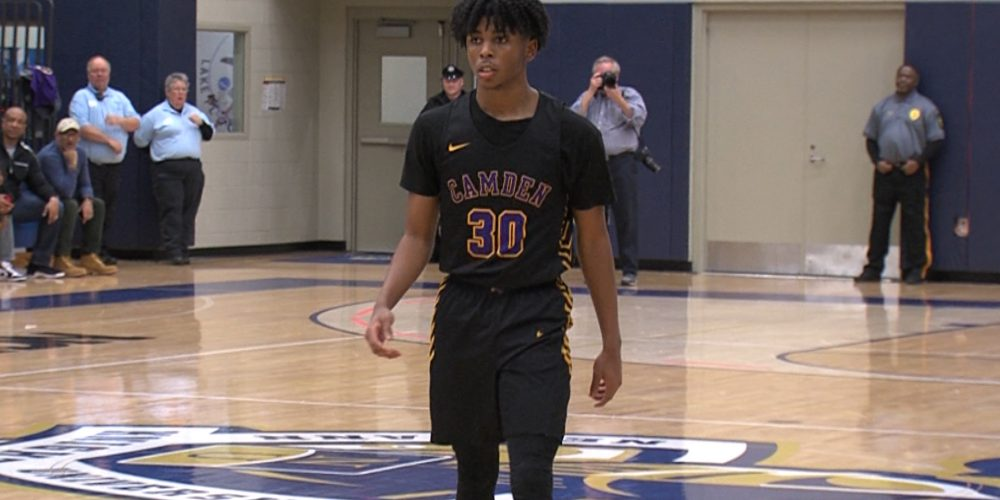 Camden Clips Wildwood Catholic in a Classic