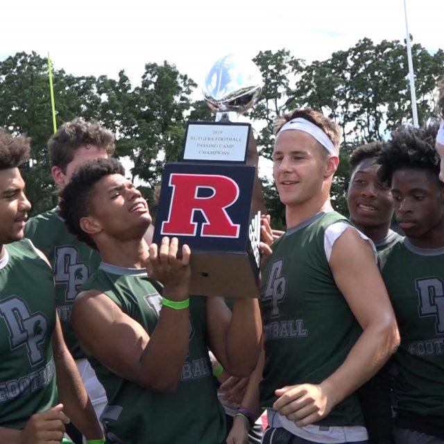 DePaul takes Rutgers Passing Camp!