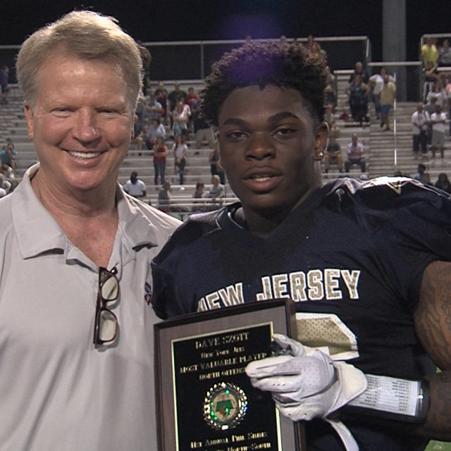 North Jersey Breaks Losing Streak, Wins Nailbiter in Annual Simms All-Star Game