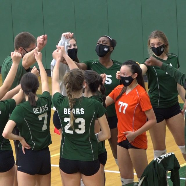 East Brunswick Volleyball Avoids Early Playoff Exit