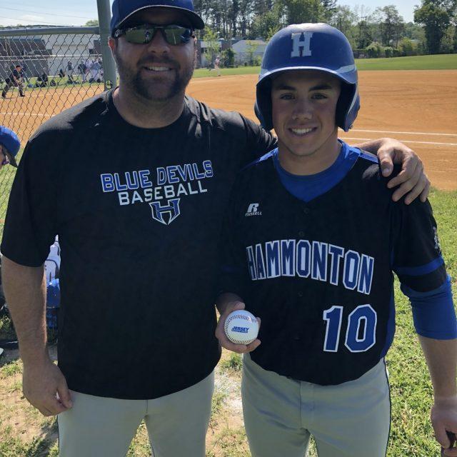 Luke Attanasi of Hammonton wins JSZ South Jersey Game Ball